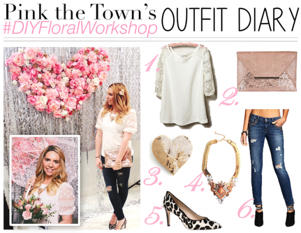 DIY Floral Workshop Event Outfit Diary