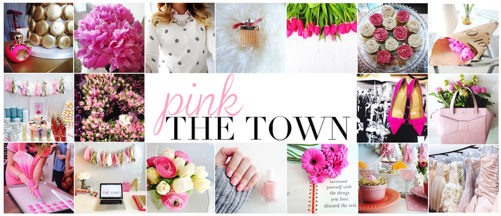 new pink the town post