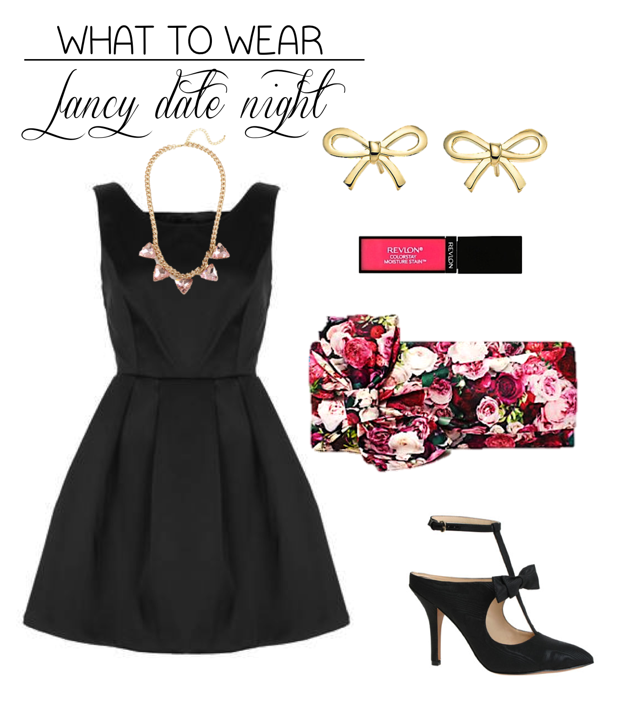 What to Wear Fancy Date Night Edition