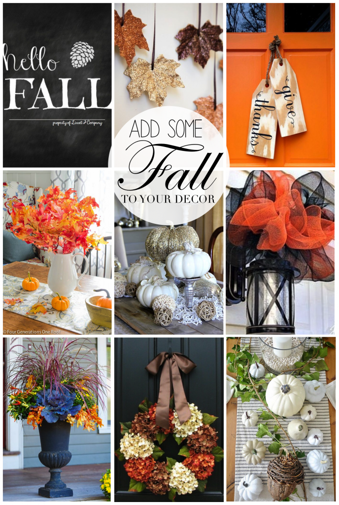 add some fall to your decor