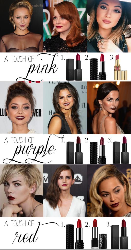 fall lipstick 2014