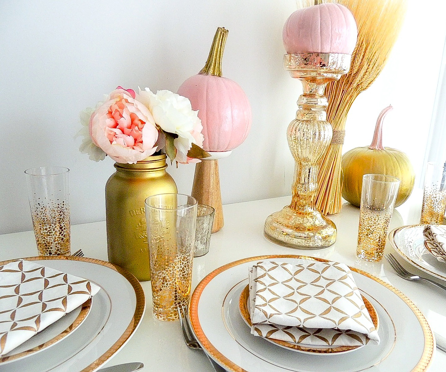 DIY: Festive Fall Table Setting | Pink the Town