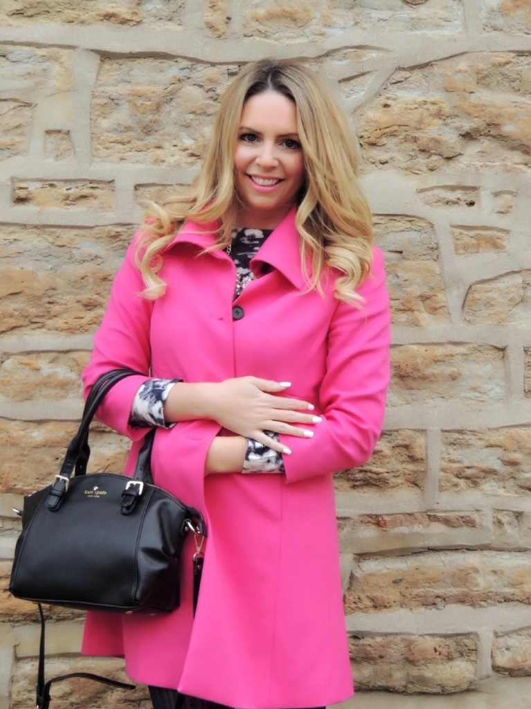 hot pink coat pink the town 15