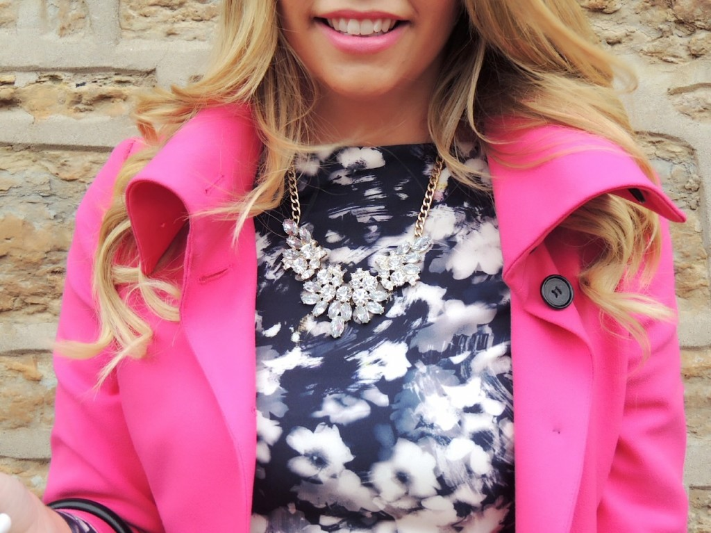 hot pink coat pink the town 16