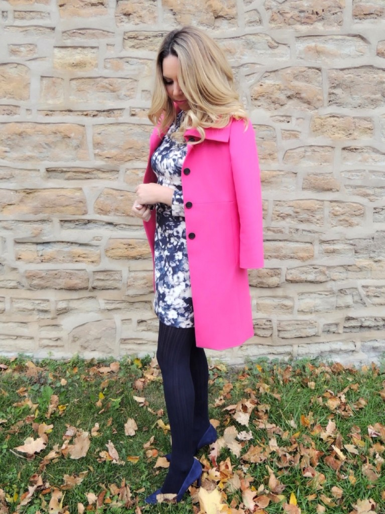 hot pink coat pink the town 17