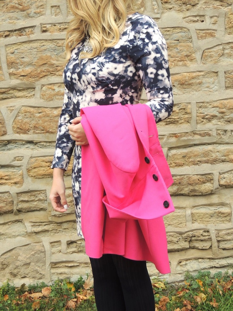 hot pink coat pink the town 5