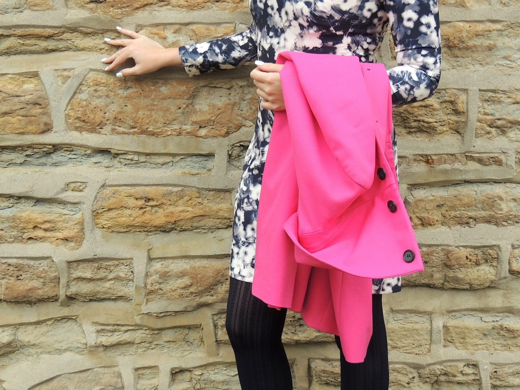 hot pink coat pink the town 6