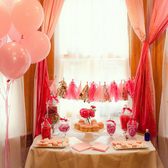 pretty in pink candy bar 1