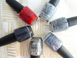 OPI 50 SHADES OF GREY COLLECTION 7