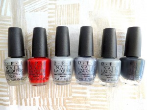 OPI 50 SHADES OF GREY COLLECTION 8