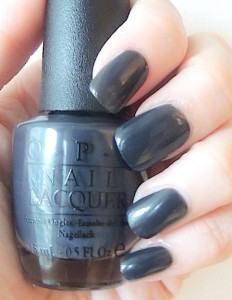 OPI 50 SHADES OF GREY COLLECTION 6
