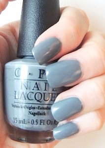 OPI 50 SHADES OF GREY COLLECTION 4