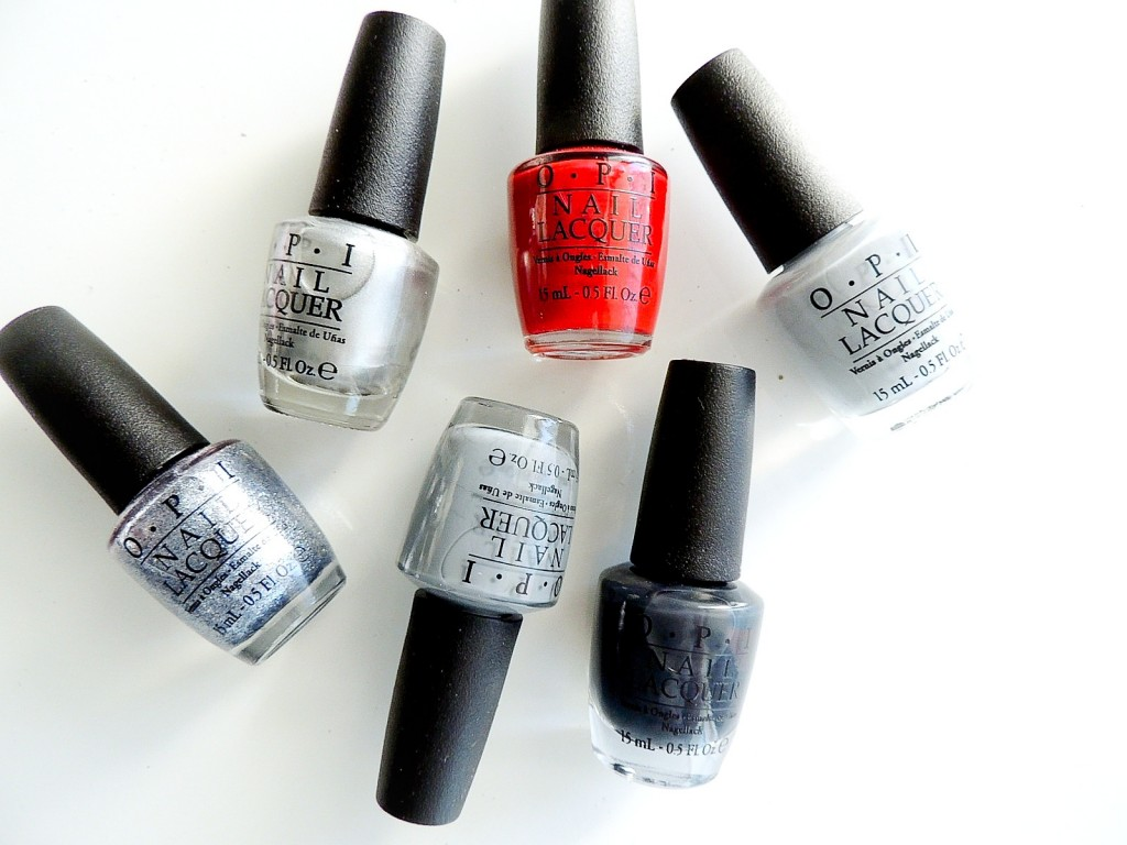 OPI 50 SHADES OF GREY COLLECTION 10