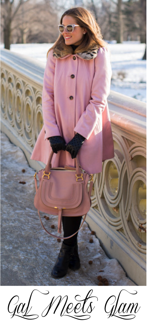 gal meets glam pink coat
