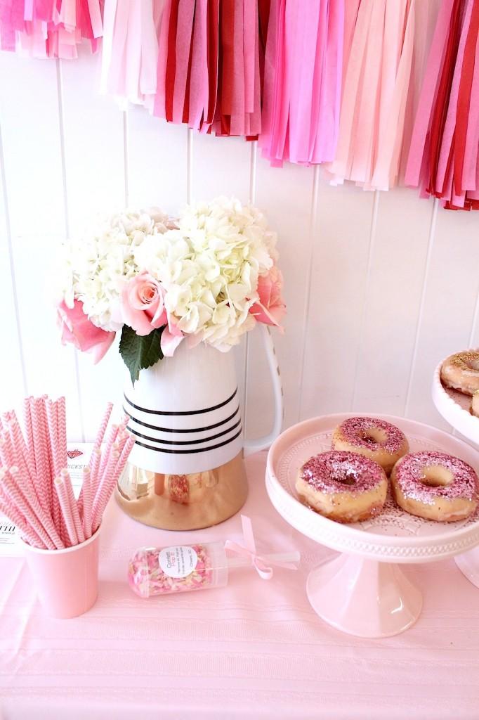glitter donuts glitter doughnuts pink the town 5