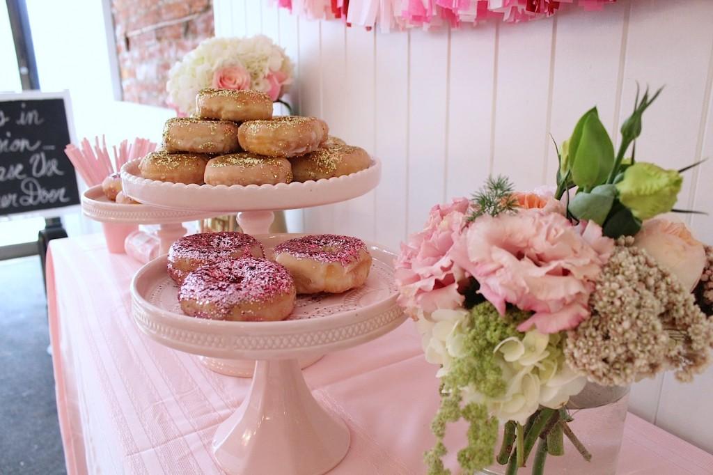 glitter donuts glitter doughnuts pink the town 4