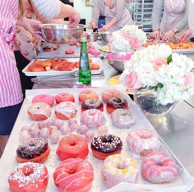 glitter donuts glitter doughnuts pink the town 6