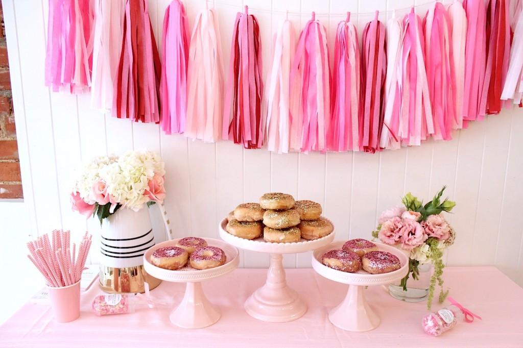 glitter donuts glitter doughnuts pink the town 3
