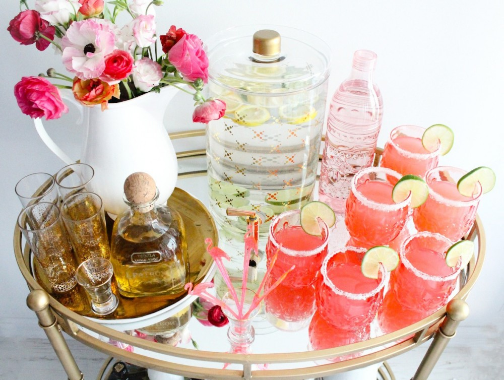 how to make pink lemonade margaritas