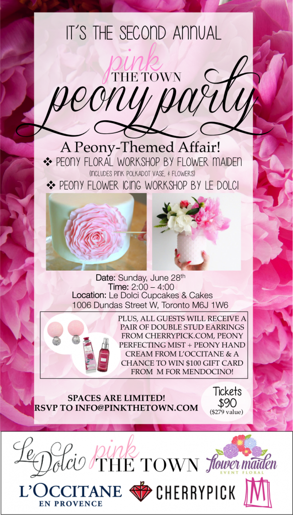 pink the town peony party