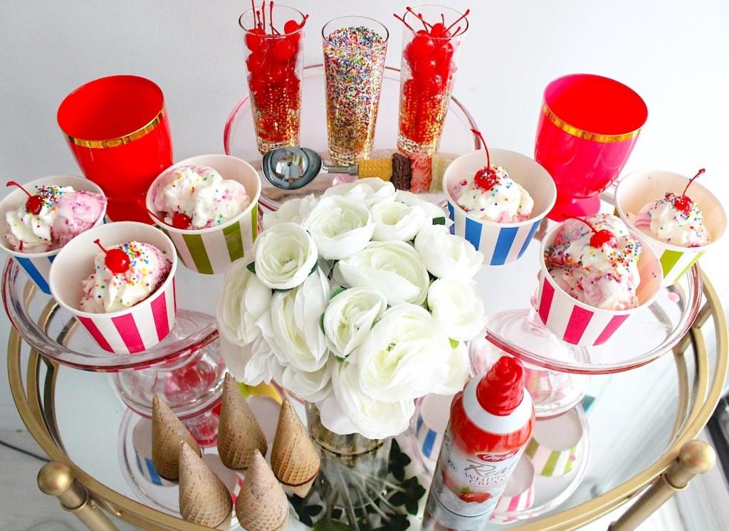ice cream party decor 4