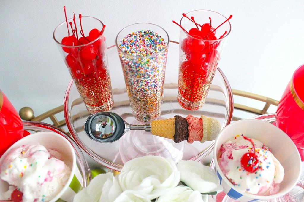 ice cream party decor 5