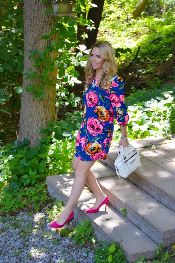 pink the town pink peony dress 4
