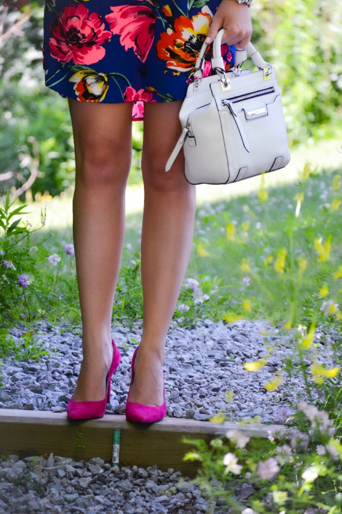 pink the town pink peony dress