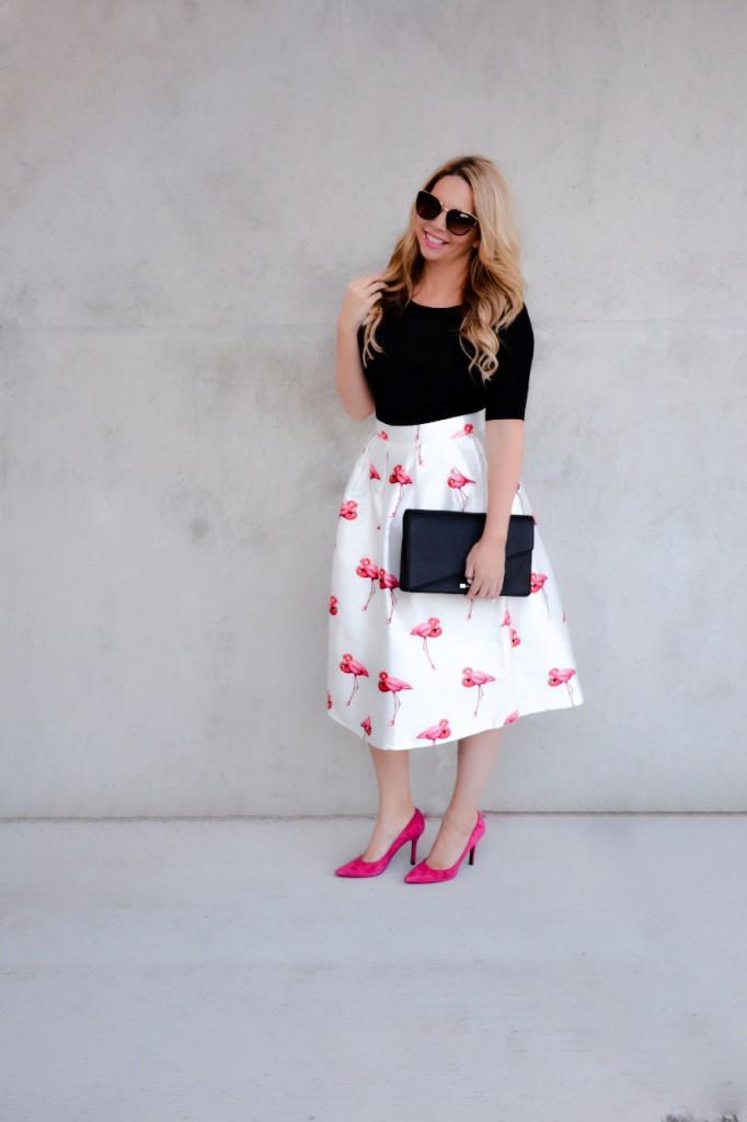 flamingo skirt 1