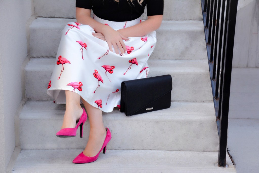 flamingo skirt 2