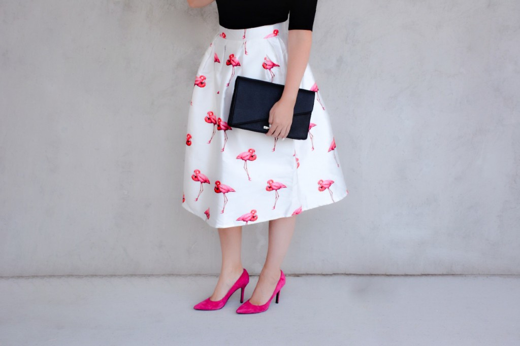 flamingo skirt 3