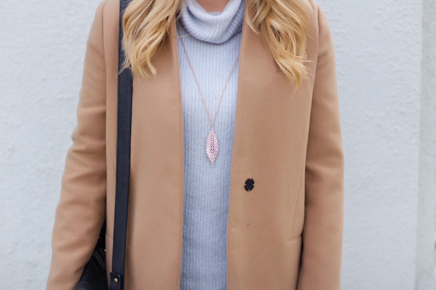 camel coat pink the town 7
