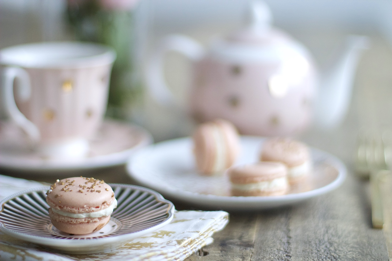 pink the town parisian macaron