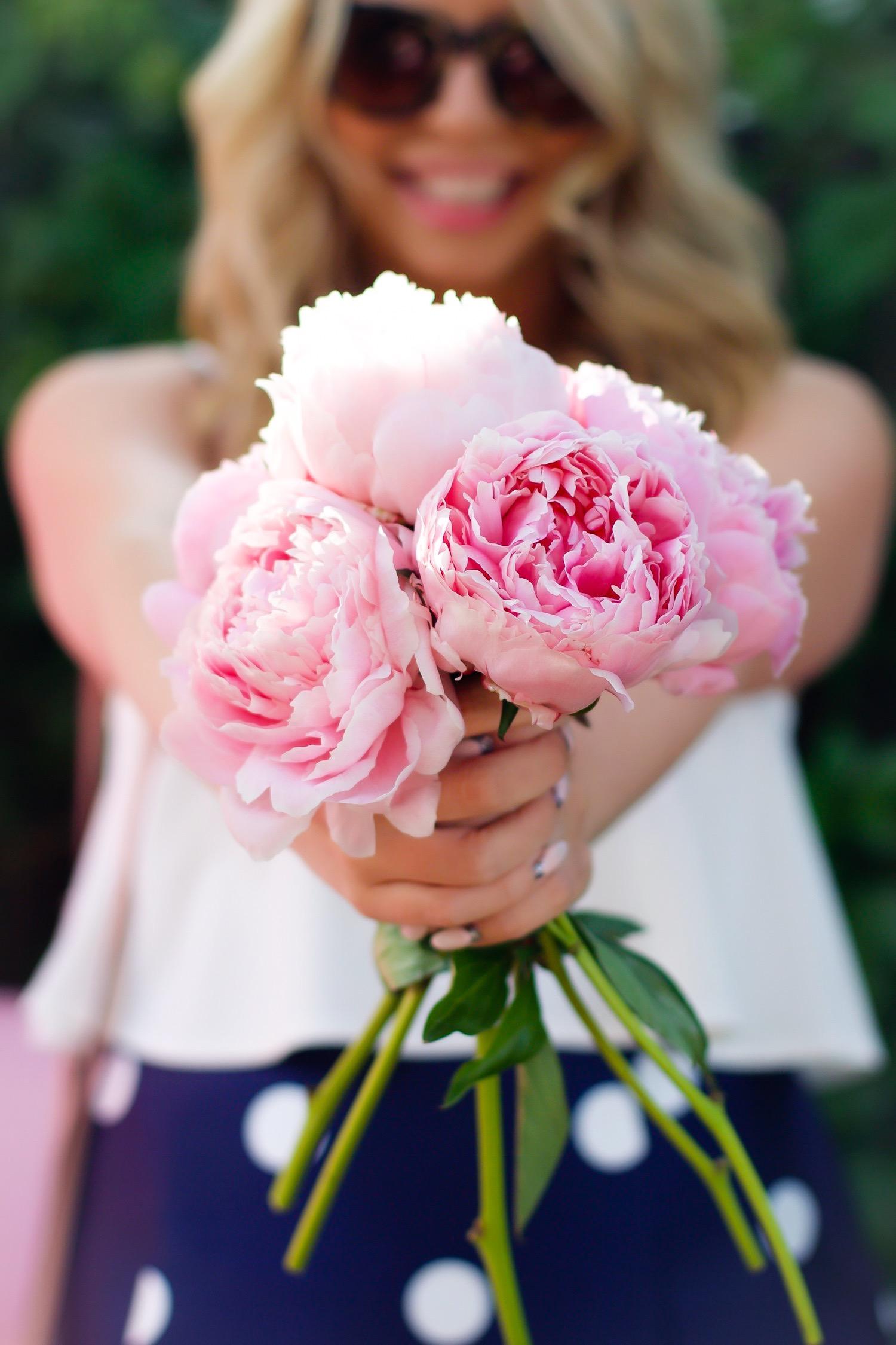 amanda losier pink the town pink peonies