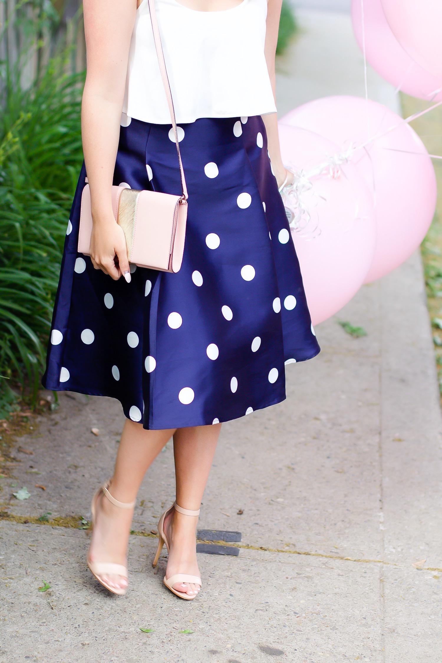 chicwish skirt pink kate spade purse